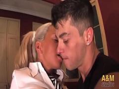 18+ amorous video category bukkake (923 sec). Tatiana una  rubia que estaacute_ cantilde_oacute_n y puede con todo !!.