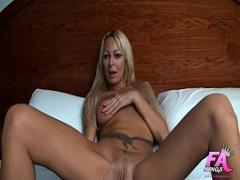 Nice video category sex_toys (594 sec). Spanish milf fucked in the ass by rubber cock has an anal orgasm.