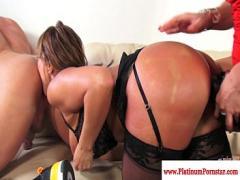 Sex sexual video category pornstar (601 sec). Ava Devine does dp during a threesome.