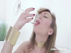 Genial videotape recording category anal (122 sec). Julia North loves african champagne IV371.