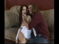 Super hub video category anal (1086 sec). Pretty and sensual brunette, knows how to make cum his man.