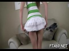 Sexy amorous video category pornstar (371 sec). Hottie with an excellent ass does good on first audition.