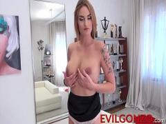 Play video category cumshot (375 sec). Hot Marie Clarences body holes destroyed by two huge cocks.