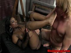 Full tube video category exotic (326 sec). Ebony booty babe sitting on his face.