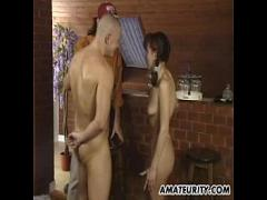 Sex hub video category cumshot (137 sec). She has an Orgasm while he cums all over her.