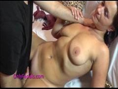 Free porno category blowjob (862 sec). Stunning MILF banged hard and splashed on tits.