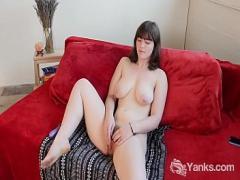 18+ youtube video category anal (902 sec). Chesty Babe Yanks Raven Snow Masturbating.