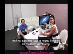 Play romantic video category milf (806 sec). FemaleAgent MILF fucked on her own desk.